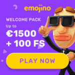 Emojino Casino [register & login] 100 free spins bonus game