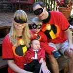 The Incredibles | Family Homemade Halloween Costume Ideas