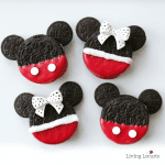 Best Party Ideas - Disney Mickey and Minnie Cookies
