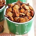 Buffalo Chex Mix - Easy Football Party Snack Recipe