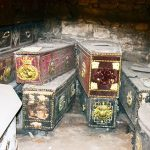 The highly decorated coffins of the Earls of Leitrim in St Michan's - The Irish Place