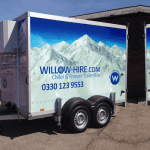 Chiller Trailer Hire North West
