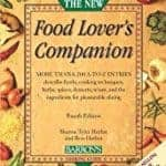 Book, Food Lover's Companion, for info about ingredients and cooking terms