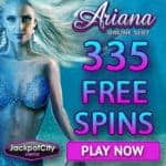 JackpotCity Casino 333 free spins (exclusive) + €1600 in bonuses