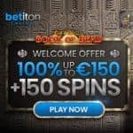 Betiton Casino [register & login] 150 free spins exclusive bonus