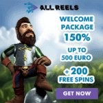 How to get 200 free spins bonus to All Reels Casino?
