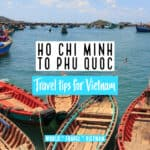 Best ways of getting from Ho Chi Minh to Pu Quoc