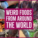 Weird Food from around the world