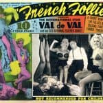 "Poster for ""French Follies"" starring Val de Val"
