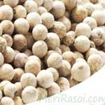 White-Pepper-सफेद-मिर्ची-Safed-Mirchi-Spices Names in English Hindi - Meri Rasoi