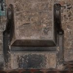 Thirteenth century St. Kieran's Chair in St Canice's Cathedral Kilkenny - The Irish Place