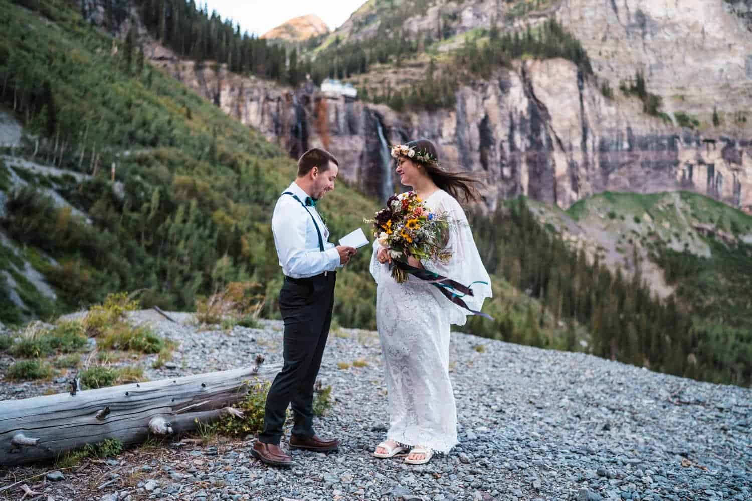 Best Places to Elope in Colorado Telluride