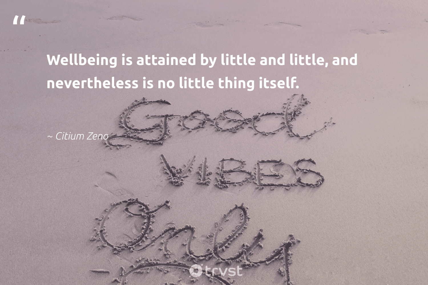 """""""Wellbeing is attained by little and little, and nevertheless is no little thing itself.""""  - Citium Zeno #trvst #quotes #wellbeing #healthyliving #changemakers #togetherwecan #takeaction #healthylife #begreat #mindset #beinspired #healthy"""