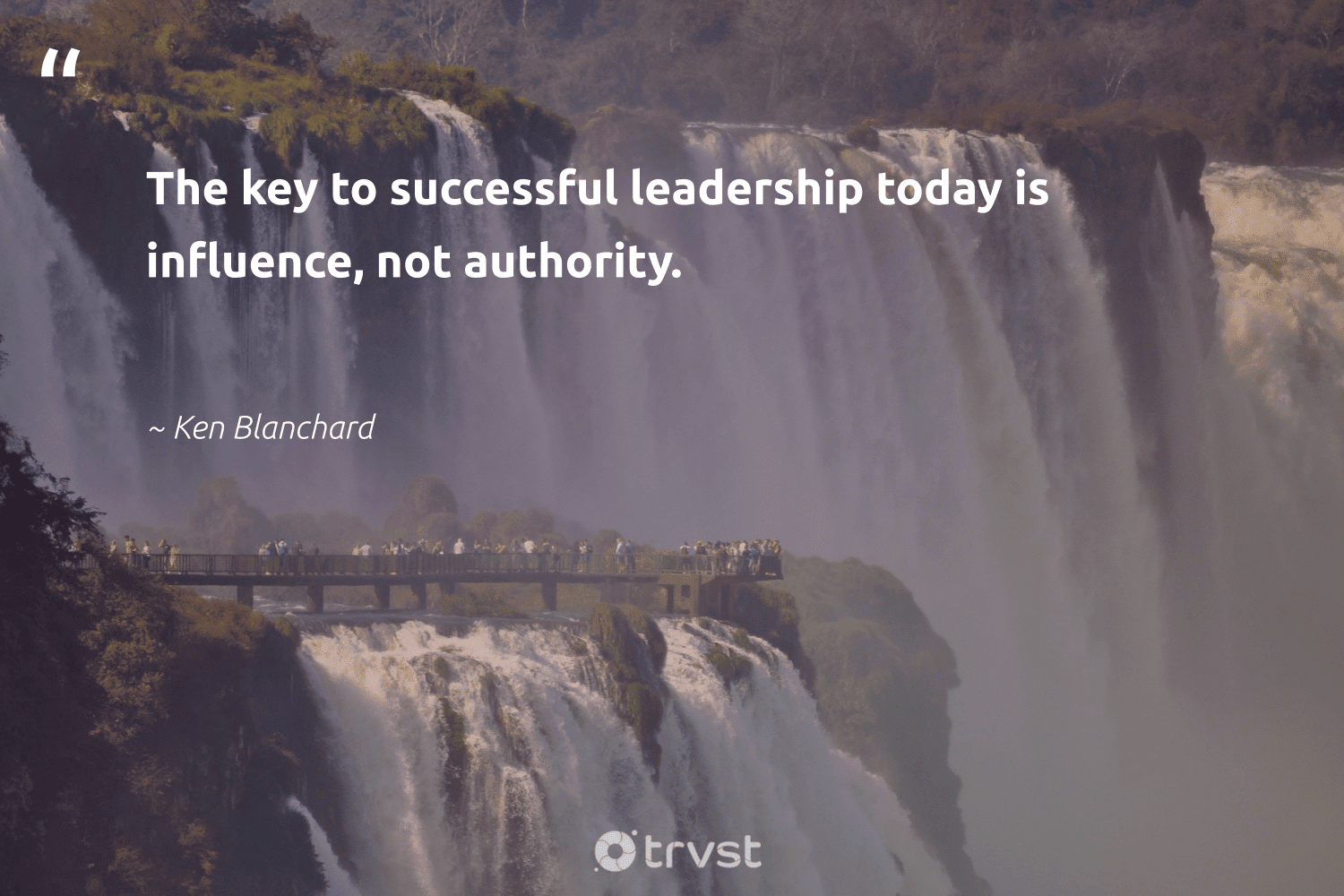 """""""The key to successful leadership today is influence, not authority.""""  - Ken Blanchard #trvst #quotes #leadership #influence #leadershipqualities #nevergiveup #softskills #bethechange #leadershipdevelopment #futureofwork #begreat #takeaction"""