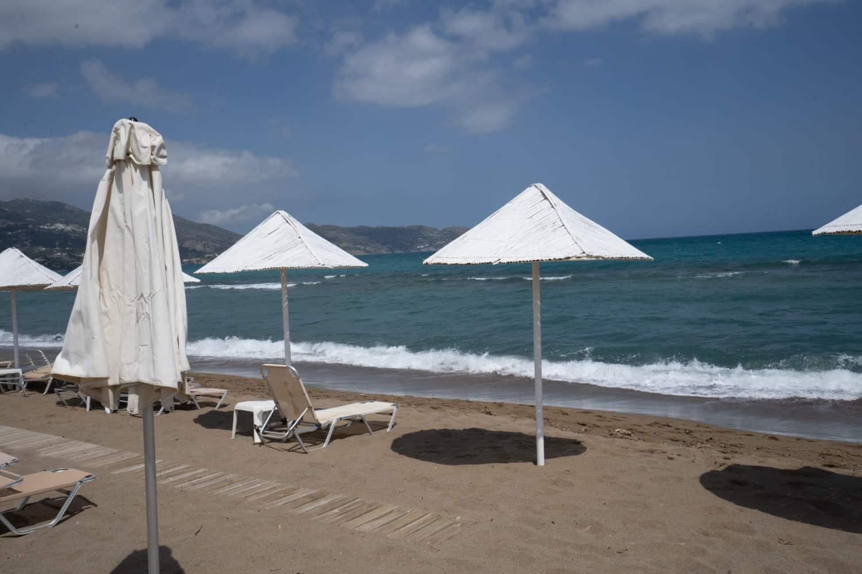 Sandstrand in Kreta