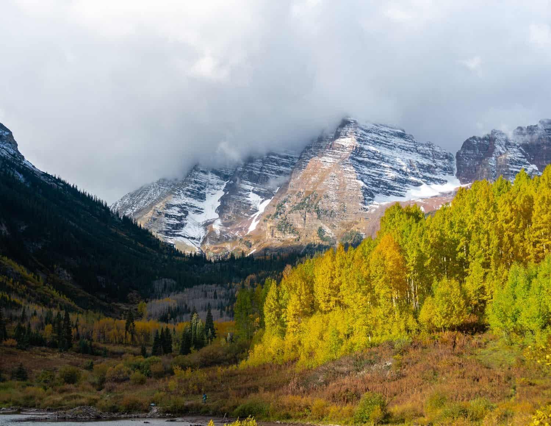 Best Places to Elope in Colorado Maroon Bells