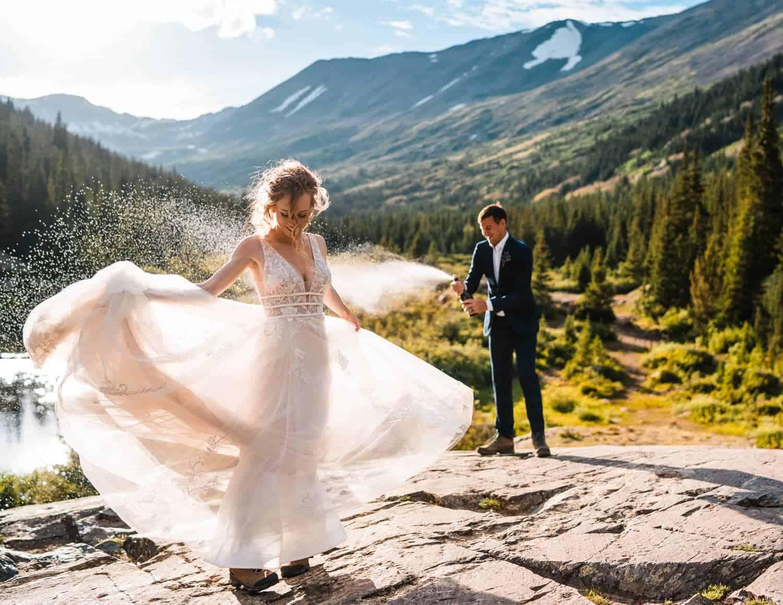 Best Places to Elope in Colorado Breckenridge