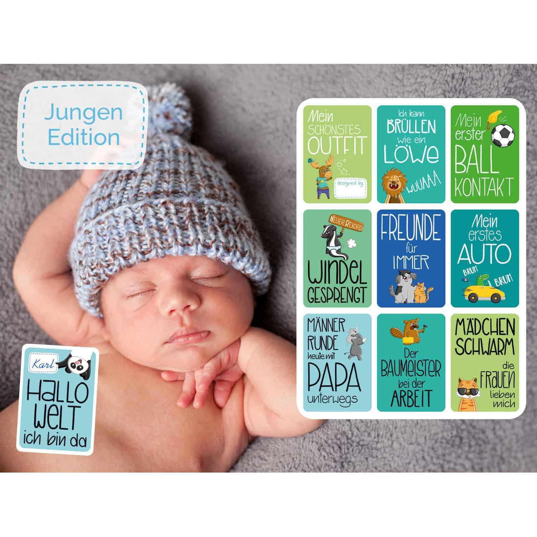 Glückswolke Meilensteinkarten Junge Edition