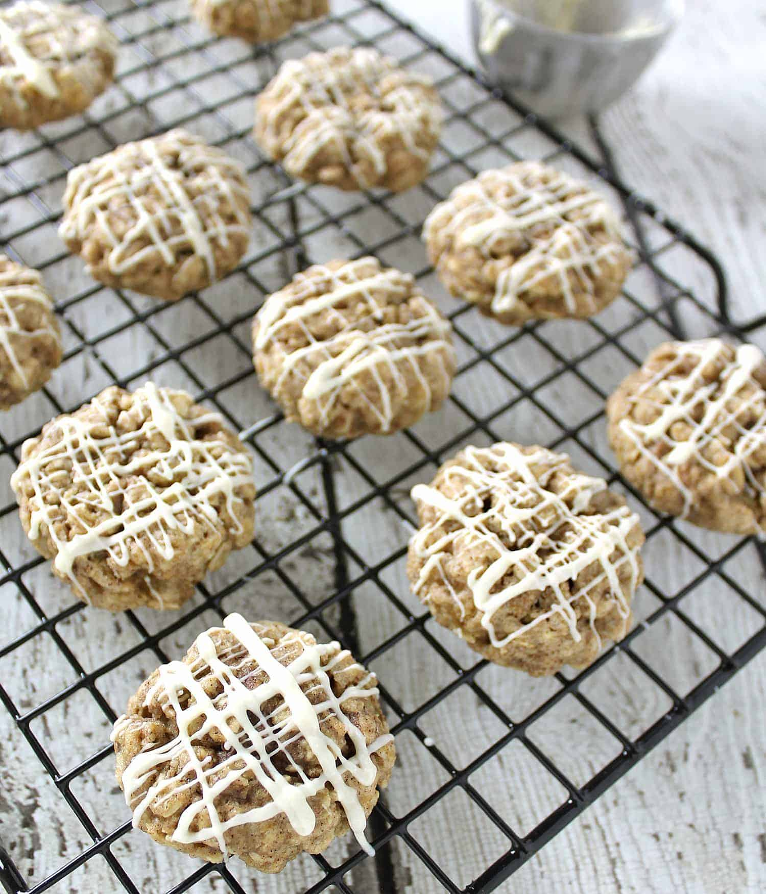 Gluten Free Candied Ginger Oatmeal Cookies