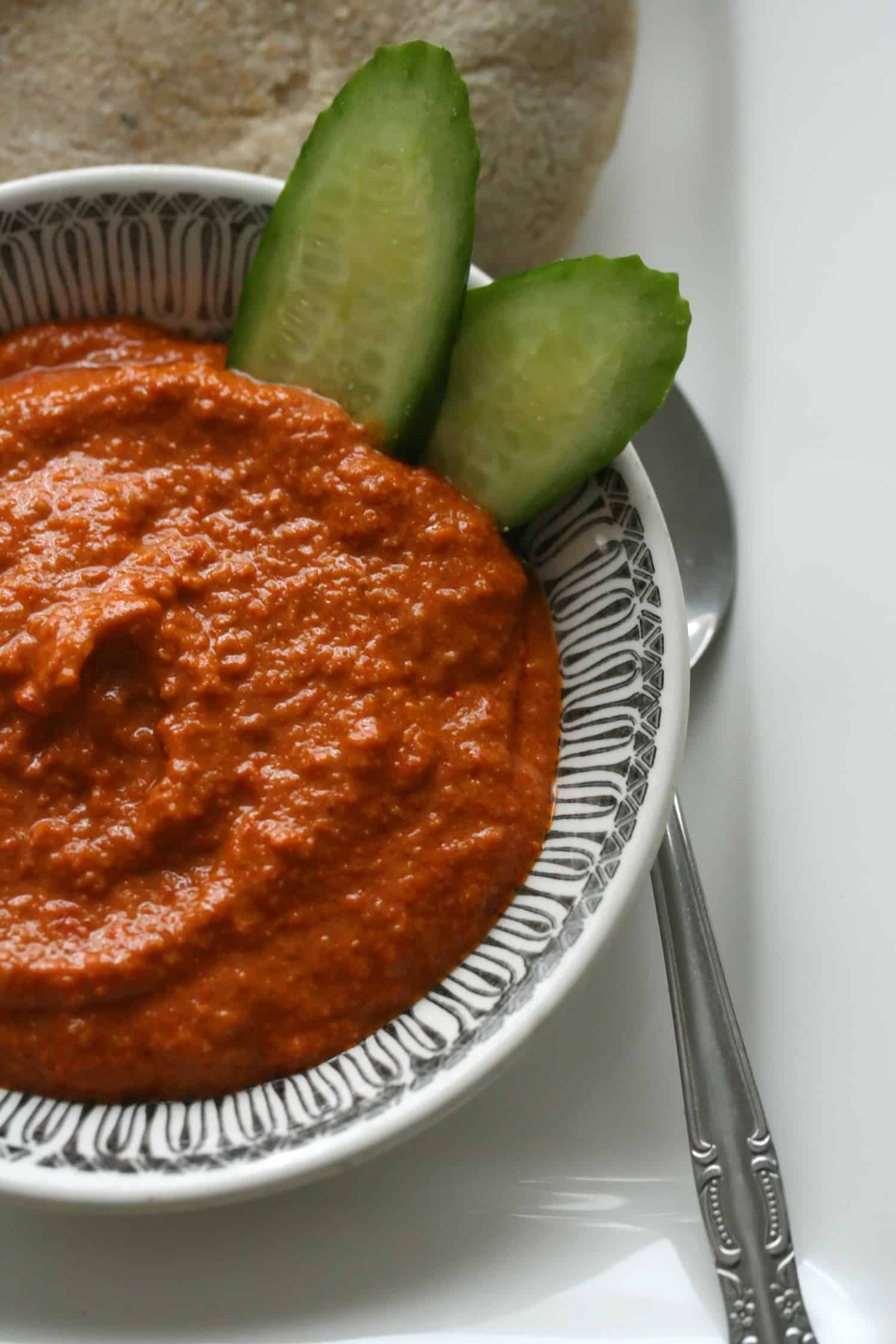Red Pepper Walnut Paste