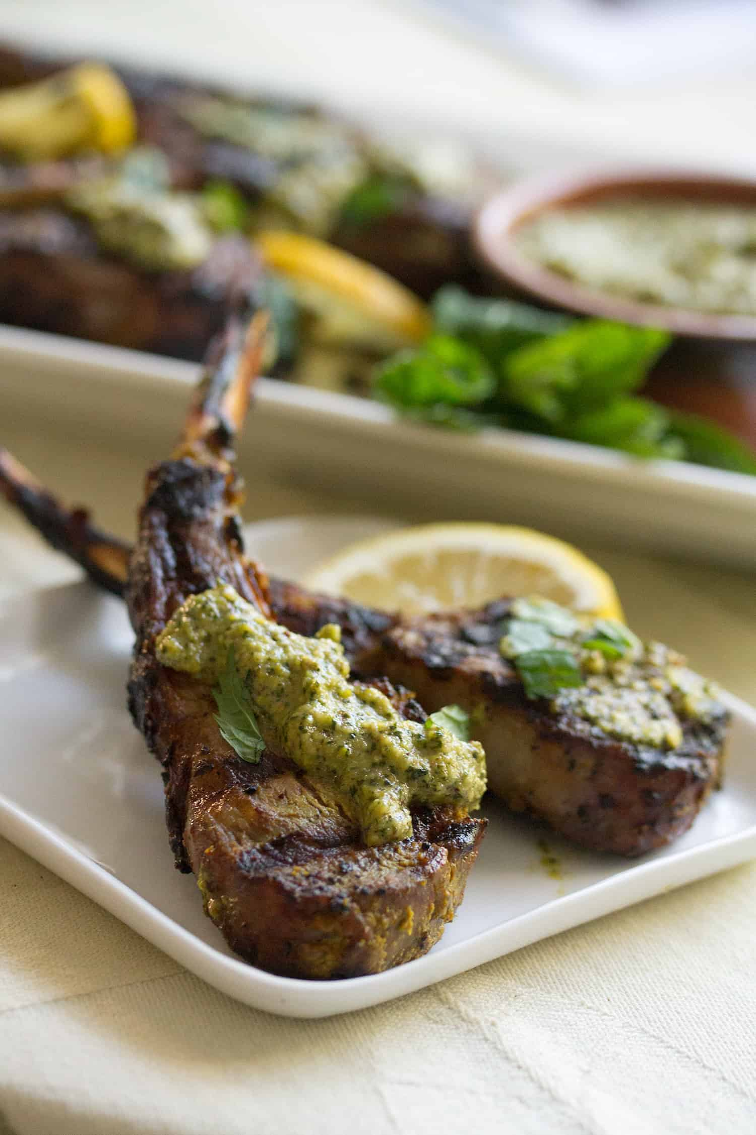 Indian Spiced Lamb Chops