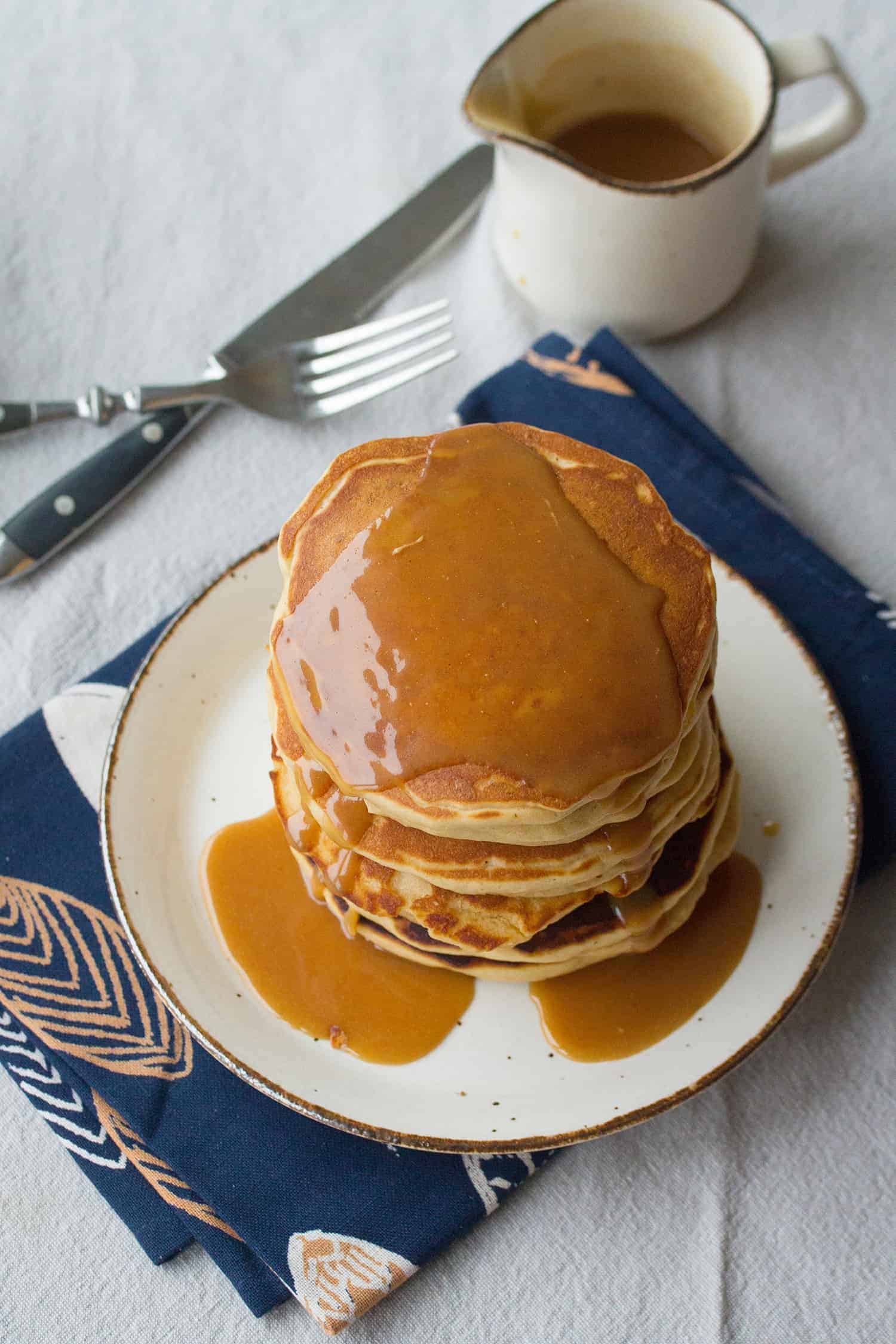 Peanut Butter Lovers' Pancakes
