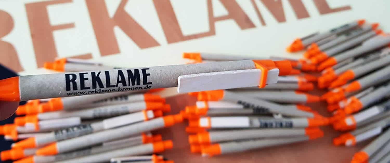 Kugelschreiber Werbematerialien Gestaltung