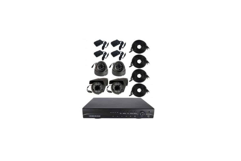 4 Channel Surveillance System