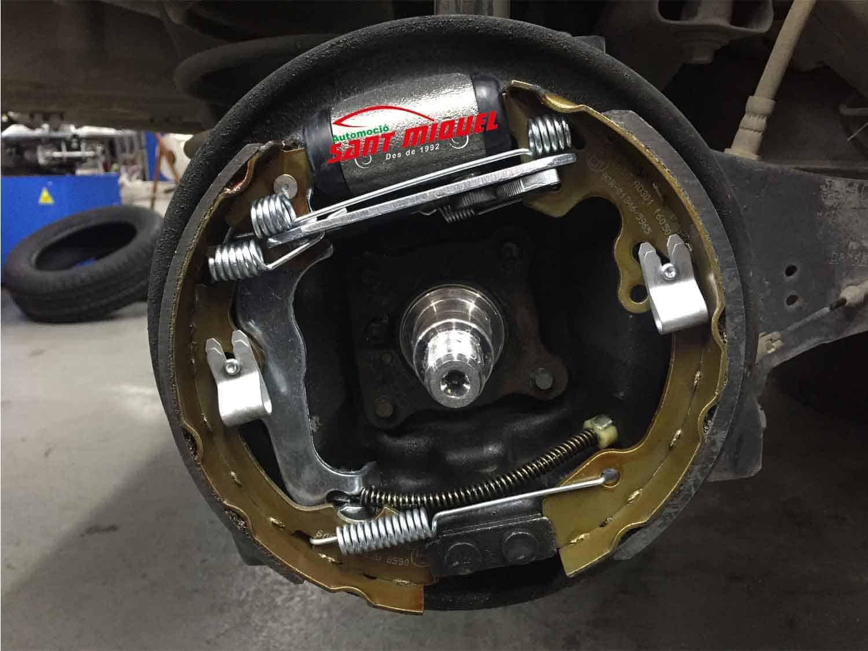 Ford Focus 1.8 D-C9DB 66kw 2001 frenos traseros de tambor nuevos