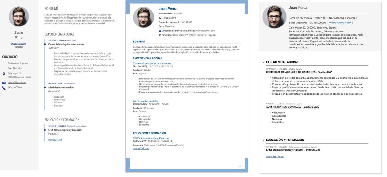 curriculum vitae europass 2020