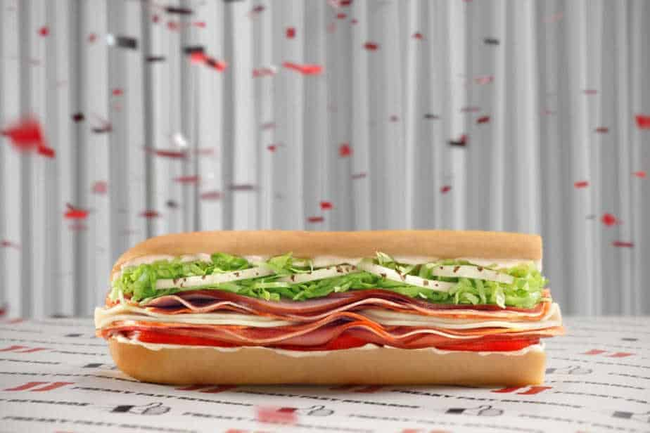 Free Jimmy John's sandwich when you sign up for Freaky Fast Rewards
