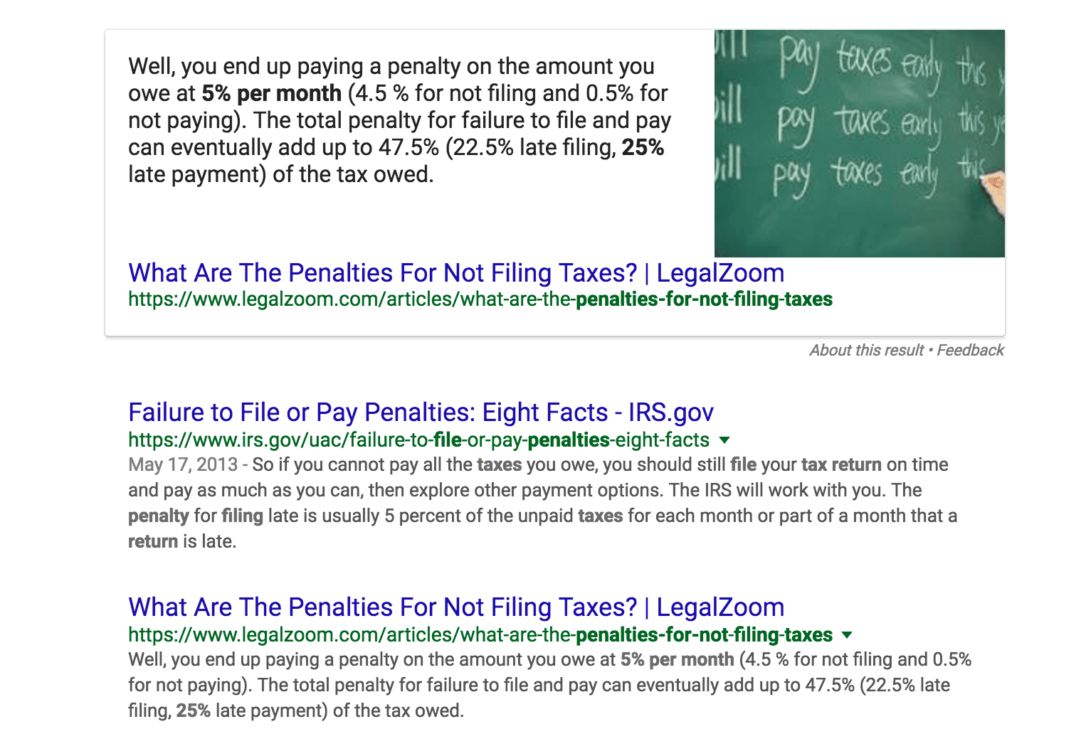 what-is-the-penalty-for-not-filing-taxes-2-google-search