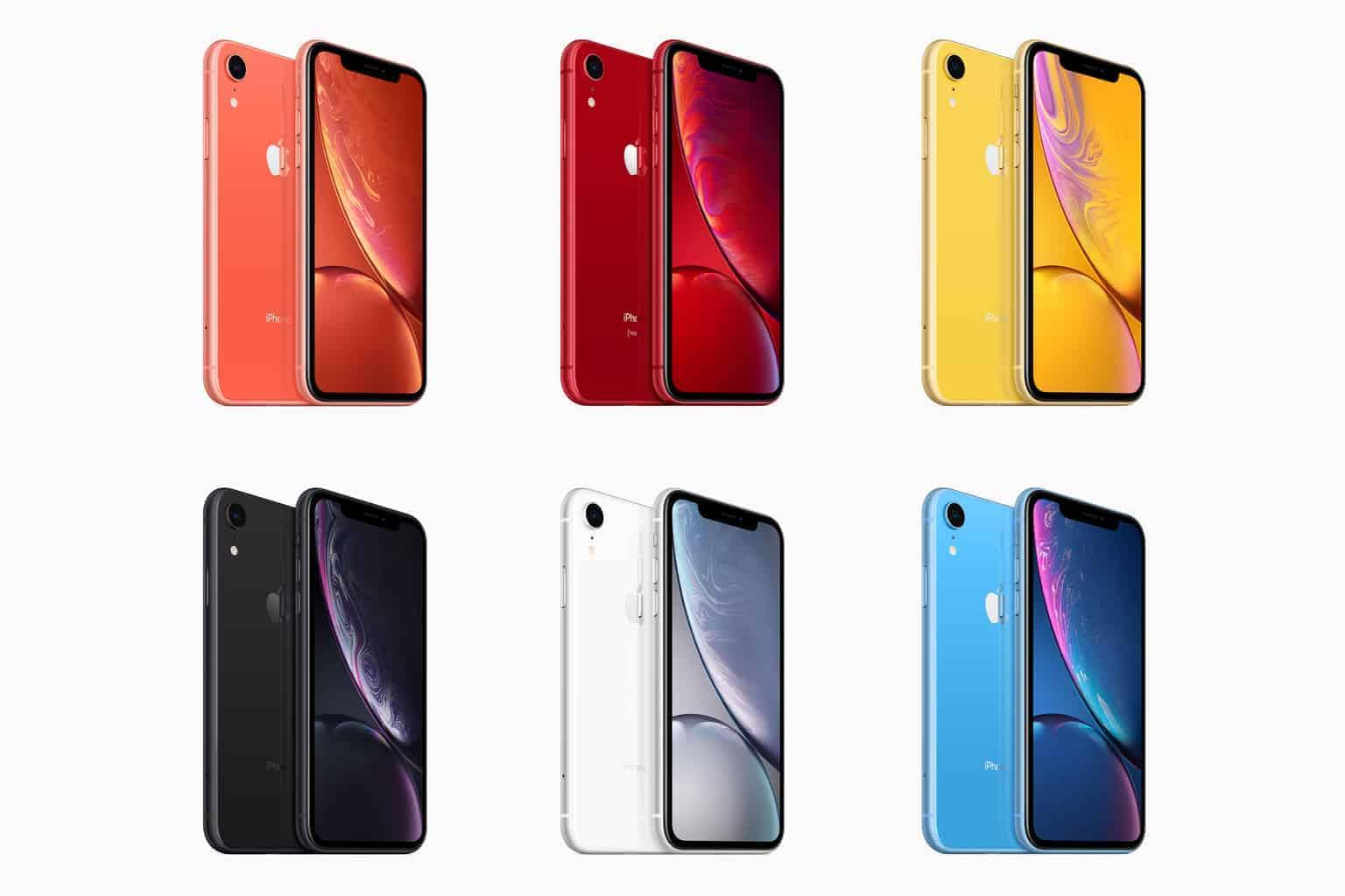 iPhone XR: dopo il lancio ancora scorte disponibili