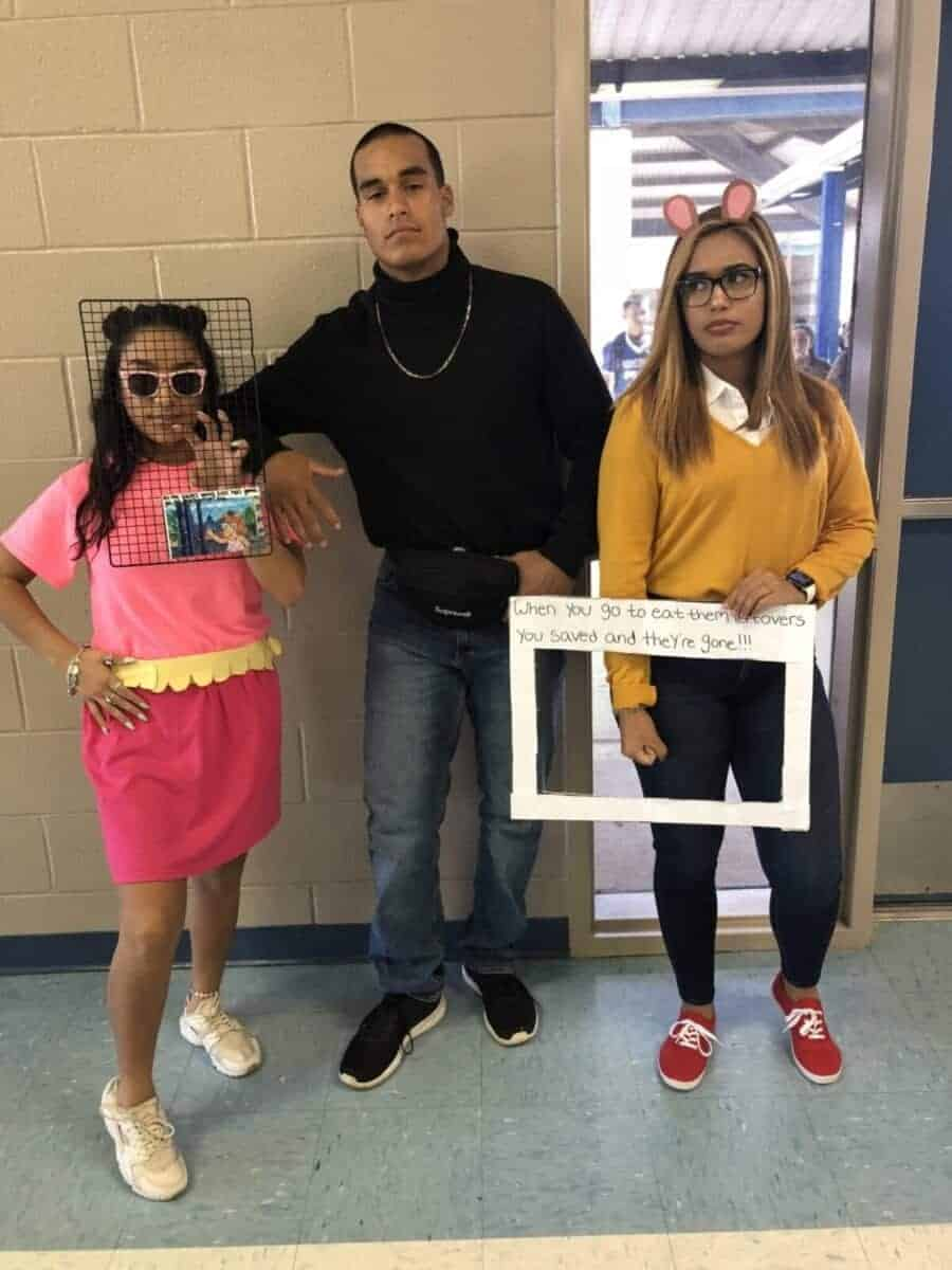 Arthur and The Rock Halloween meme costumes