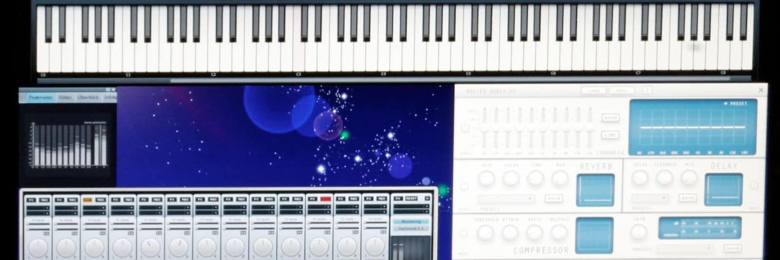 What is MIDI? image of MIDI software