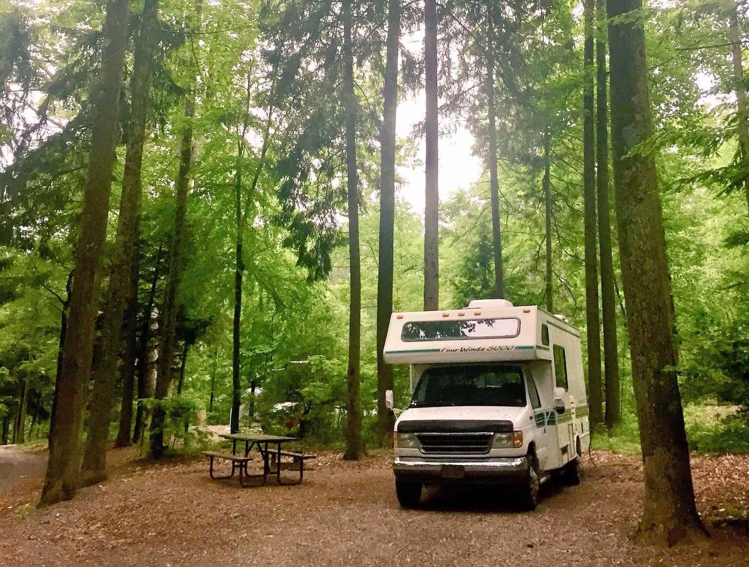 cowans gap state park pa rv campground