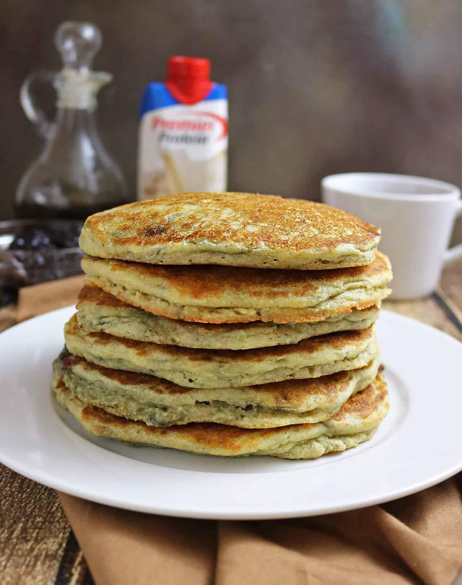 Marionberry Protein Pancakes