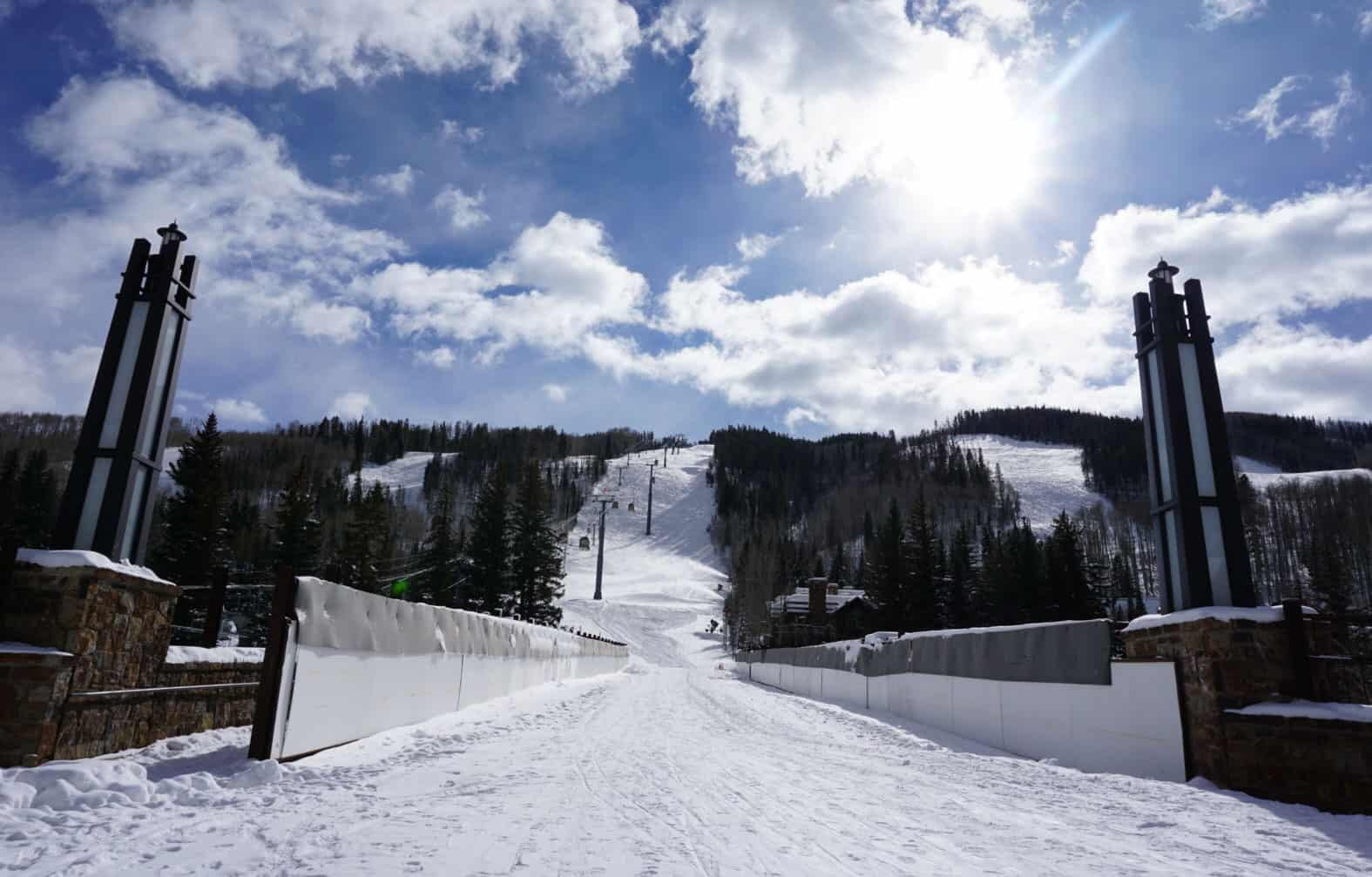 Vail mountain is opening early 2018-2019 ski season.