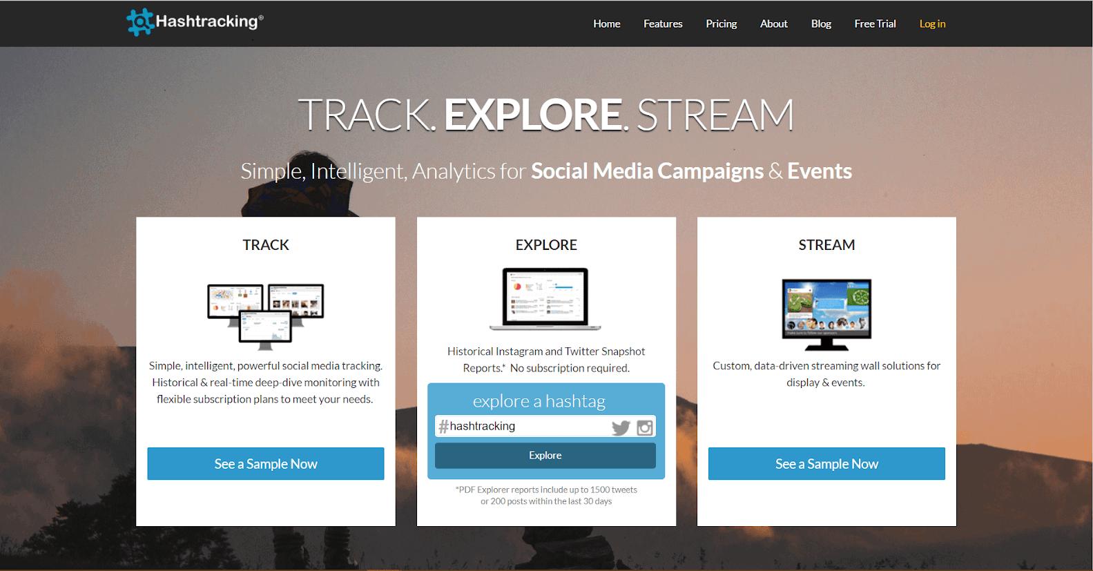 Hashtracking Hashtag Tracking Tools