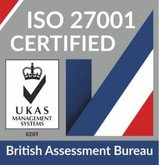 ISO27001 information security badge