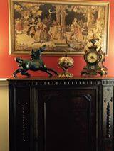 Decorating with Antique Buffet