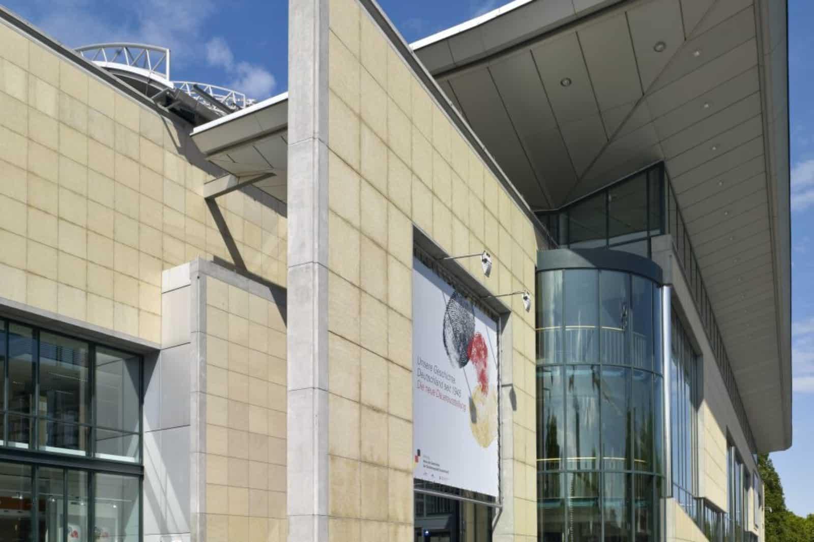 Haus der Geschichte Bonn - Haupteingang