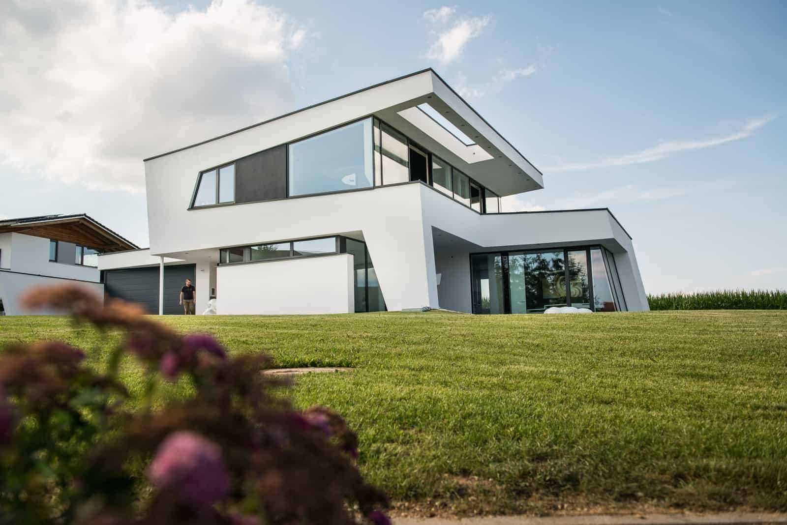 Moderne Pultdachhäuser