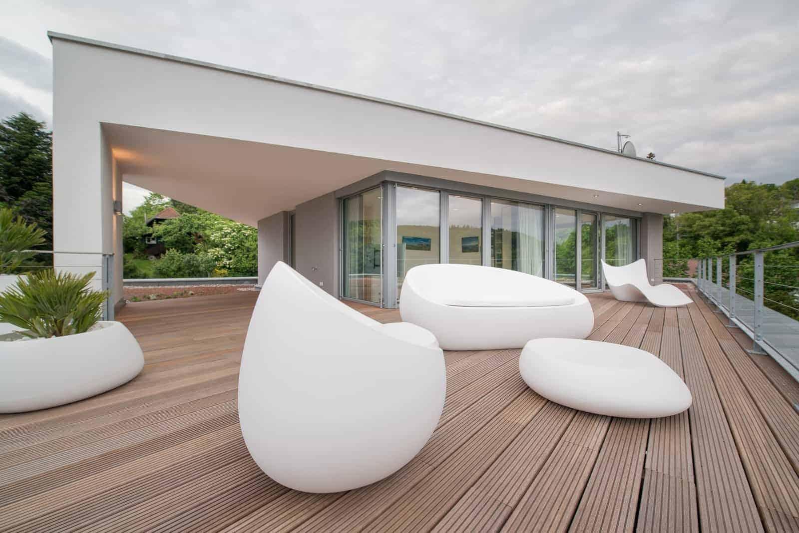 Villa Studio Dachterrasse