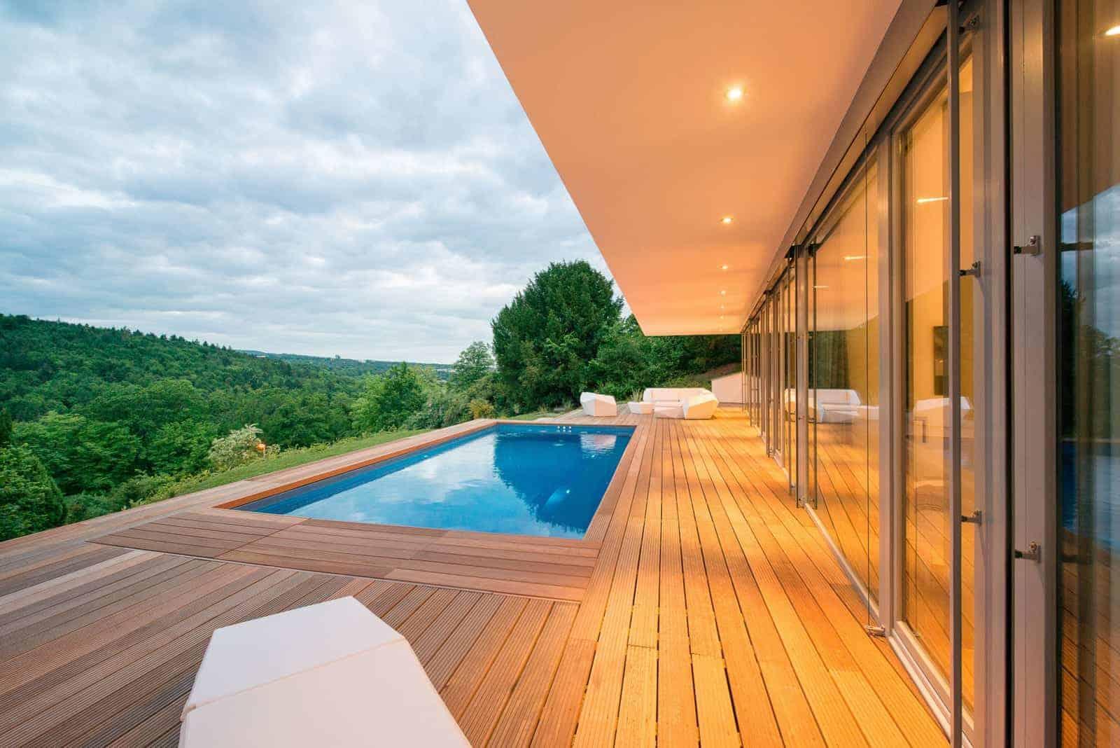 Haus am Hang Terrasse