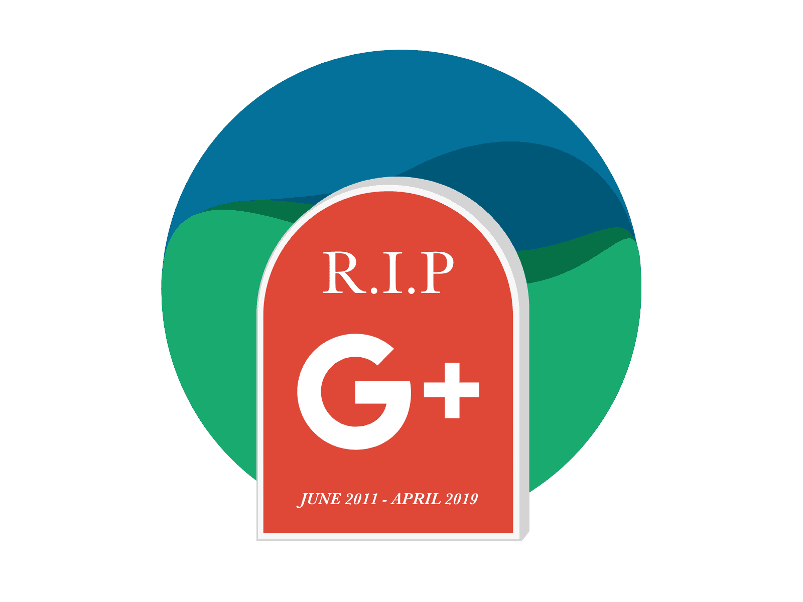 R.I.P. Google Plus Image | Kanuka Digital