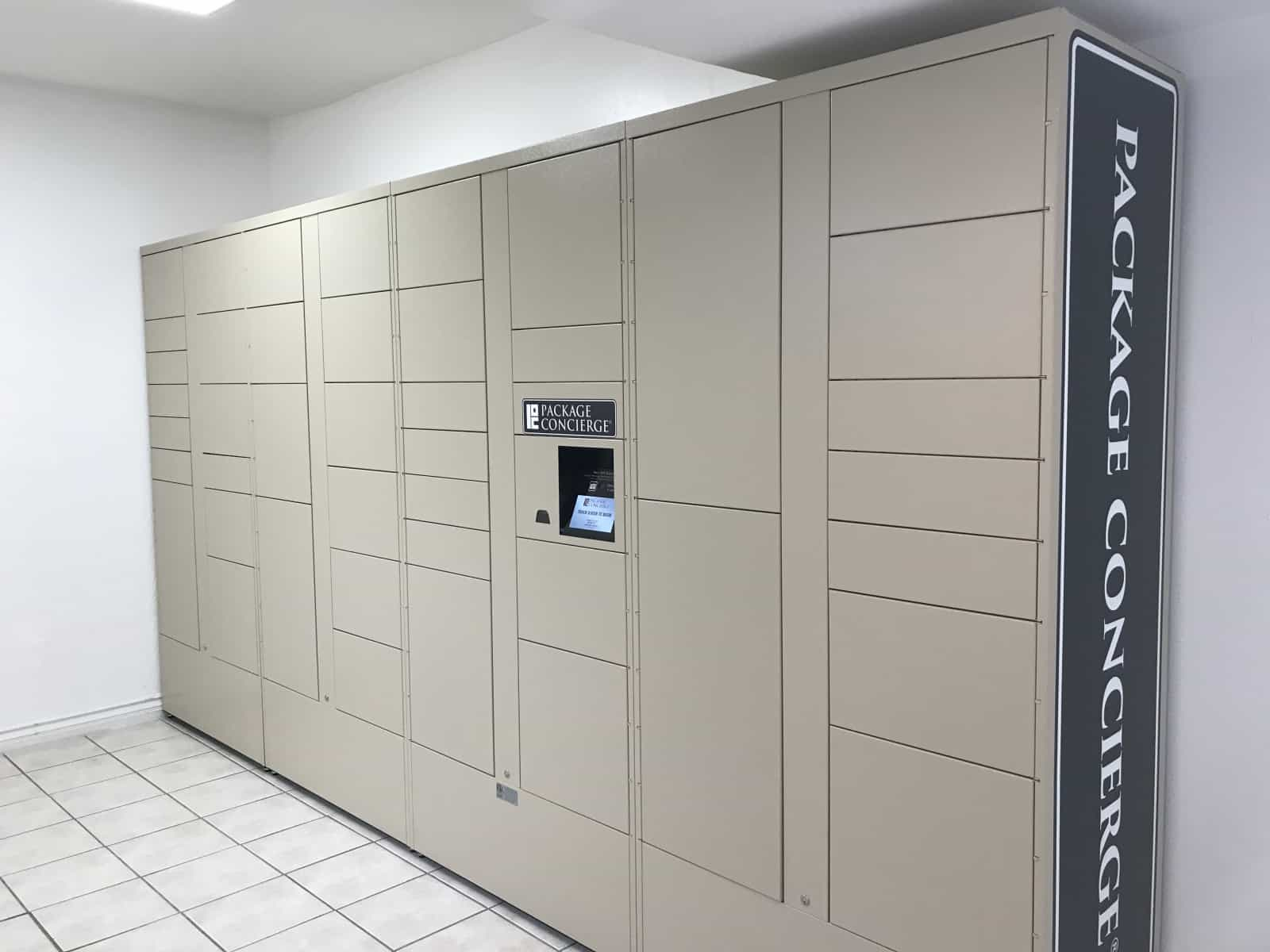 Automated Package Locker System