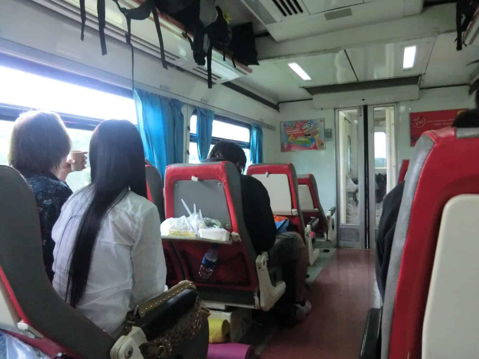 Unsere Zugreise nach Phitsanulok