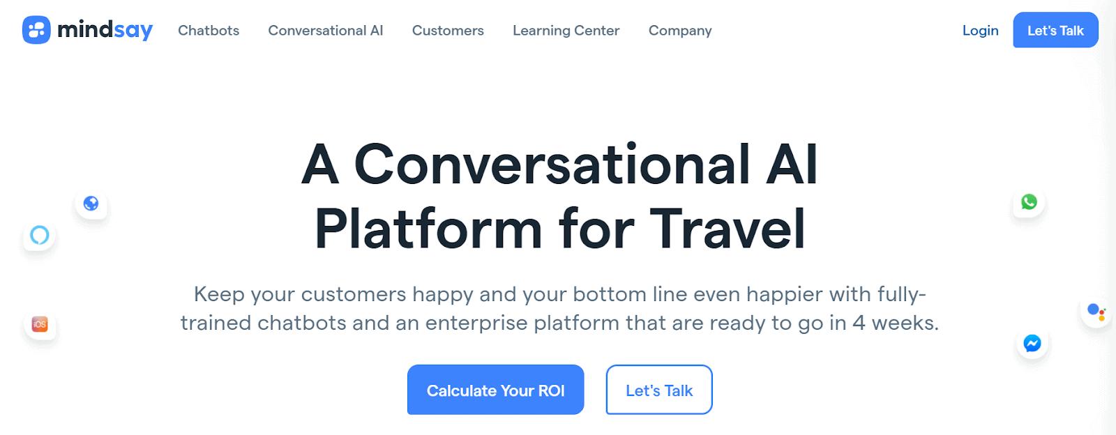 Mindsay Conversational AI Platforms
