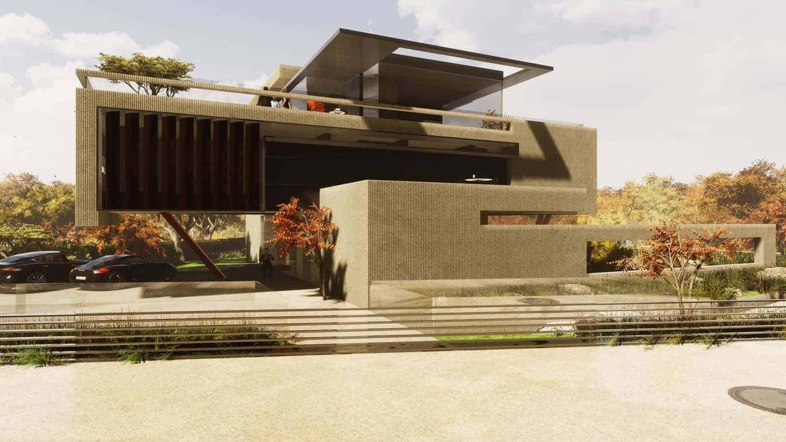 Studie Villa Luxus
